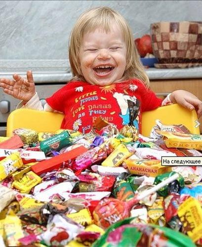 сладости и дети