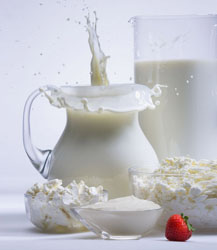 молоко и молочные продукты
