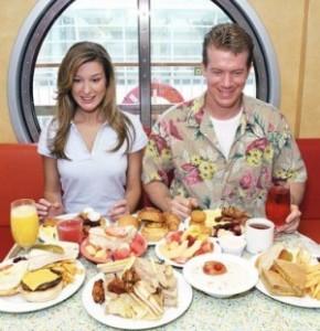 Калорийность и объем еды