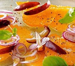 салат лук с апельсином