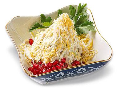 салат из редьки
