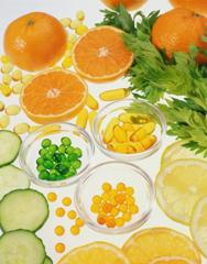 витамины и продукты питания