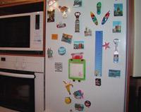 водомер на холодильнике