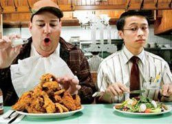 мужчины и правильное питание